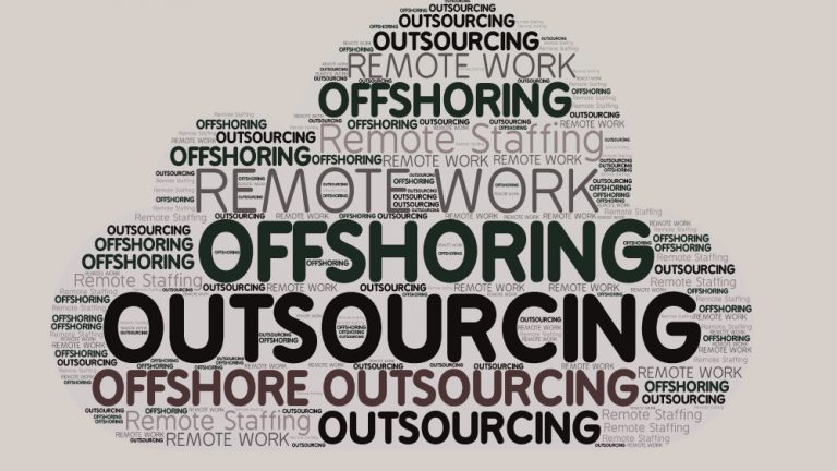 """What is """"offshore outsourcing""""?"""